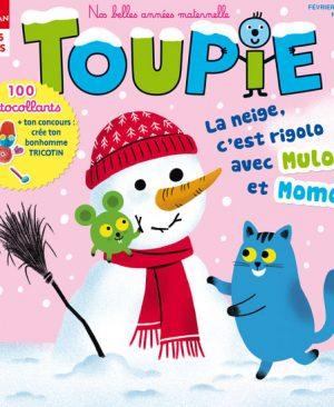Toupie magazine : la neige, c'est rigolo avec Mulo et Momo