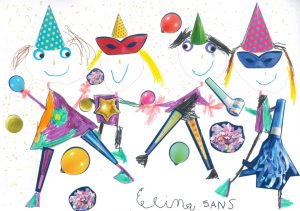 Comme les bonshommes d'Elina… n'hésitez pas à danser !