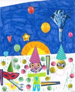 Regardez, chez Zoé, Lisa, Amandine et Timothé, on fait la fête jusqu'au bout de la nuit !