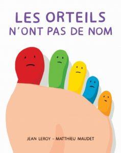 """Livre pour rire """" Les orteils n'ont pas de nom"""" - Toupie Magazine"""