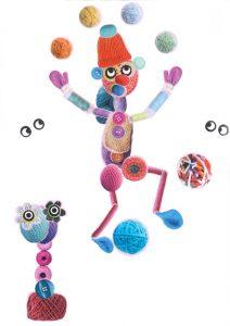 Waouh, Léane, jongler avec les pieds et les mains en même temps, quel talent !