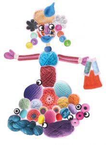Romy, ta madame tricotin est très élégante !