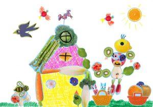 Un grand merci, Iris, pour ta jolie maison colorée !