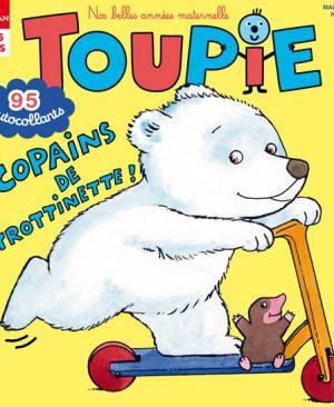 Copains de trottinette ! Toupie Magazine