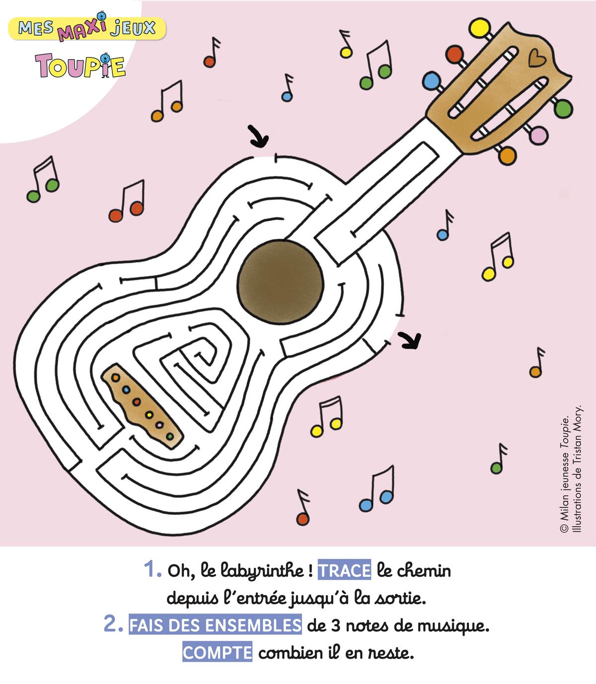 poster maxi jeux Toupie Juin n°405
