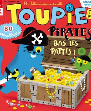 Pirates, bas les pattes ! dans votre magazine Toupie