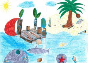 Hissons la voile et partons en expédition dans l'embarcation de Noah !