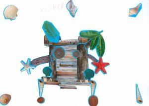 Des bras, des jambes et des yeux, Robin a imaginé pour nous un super radeau humanisé !