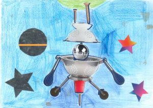 Bip bip… La soucoupe volante de Charlie s'apprête à explorer une nouvelle planète.