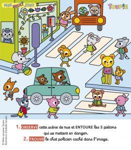 Poster jeux toupie magazine octobre 2019