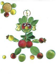 Ouh là là, le bonhomme pomme de Nathan va glisser… Il faut vite l'aider !