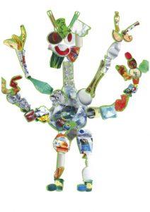 Super idée, Énola, d'avoir créé un monstre à quatre bras !