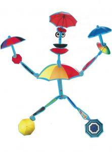 Ton bonhomme parapluie aime danser, Rania ?