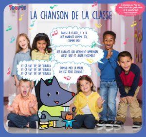 Poster la chanson de la classe - Toupie Magazine