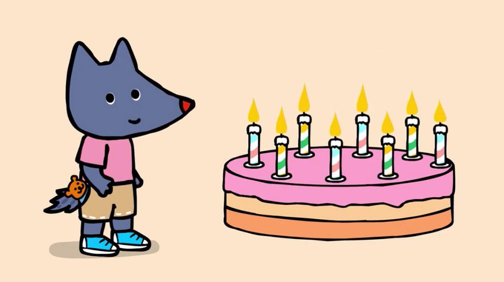 tiloulou bougie anniversaire