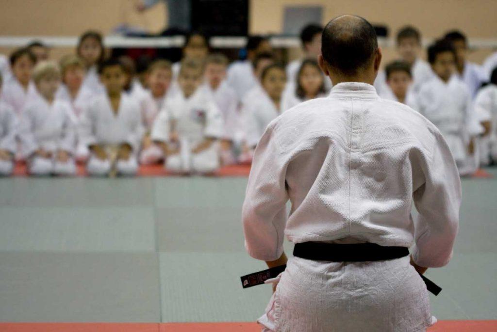 activité sportives 3 - 6 ans judo