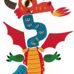 Stefan, avec son long cou, ton dragon est effrayant. Brrrr !