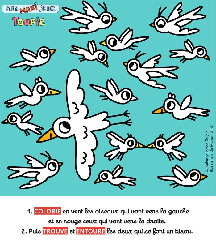 Poster jeux Toupie - FEVRIER