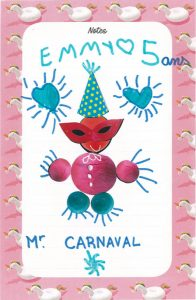 Ton Monsieur Carnaval est tout mignon, Emmy.