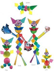 Un coucou et des bisous à toute la famille Carnaval de Tom.