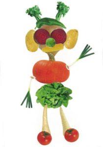 Coucou à toi, Héloïse, et à ton bonhomme légumes.