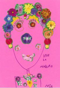 Mia, Toupie est d'accord avec toi : vive les fleurs et vive la nature !
