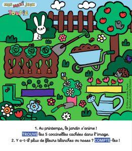 Poster jeux Toupie - AVRIL