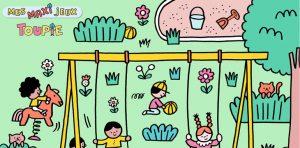 Poster jeux Toupie - MAI