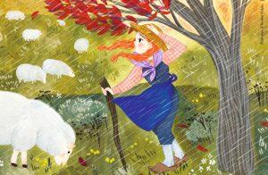 Comptine Toupie magazine Il pleut bergère